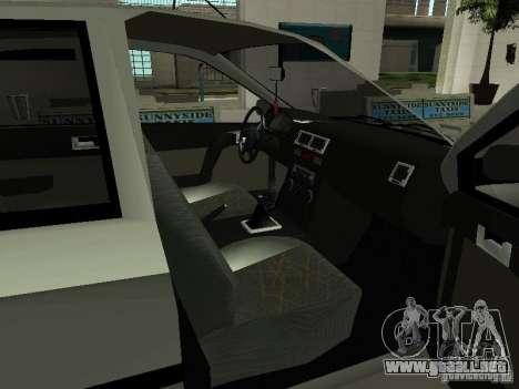 Hyundai Getz para GTA San Andreas vista hacia atrás