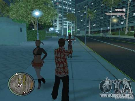 Tony Montana para GTA San Andreas quinta pantalla