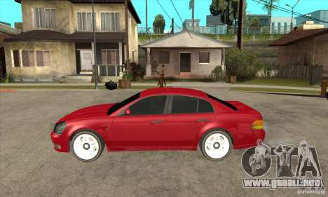 GTA IV Intruder para GTA San Andreas left