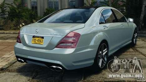 Mercedes-Benz S65 AMG 2012 v1.0 para GTA 4 visión correcta