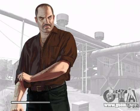 Pantallas de carga en el estilo del GTA IV para GTA San Andreas quinta pantalla