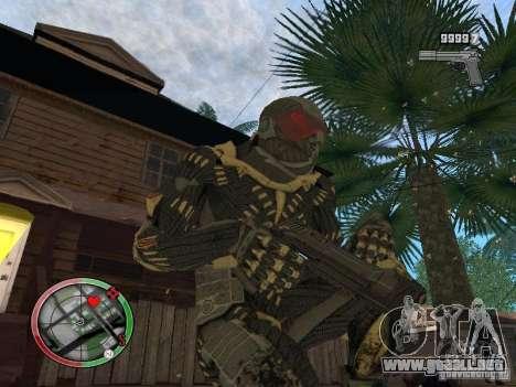 Colección de armas de Crysis 2 para GTA San Andreas quinta pantalla