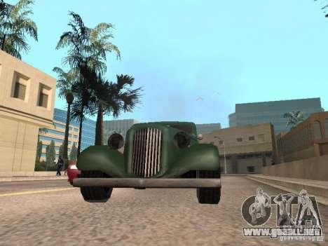 Aceleración para GTA San Andreas