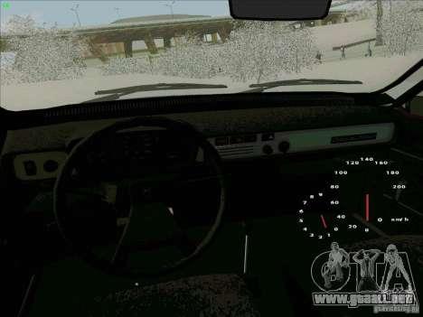 Dacia 1310 Sport para vista lateral GTA San Andreas