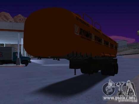 Tanque Lukoil para la visión correcta GTA San Andreas