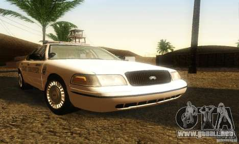 Ford Crown Victoria Neberska Police para GTA San Andreas