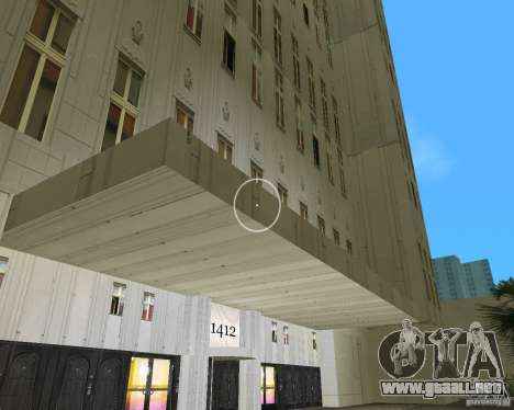 New Downtown: Hospital and scyscrap para GTA Vice City tercera pantalla