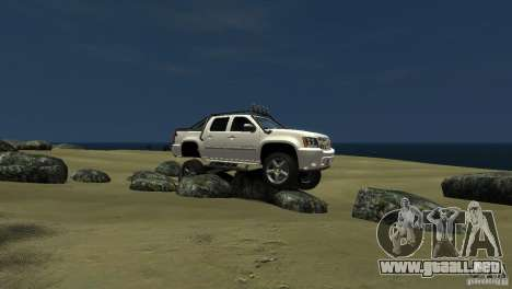 Chevrolet Avalanche 4x4 Truck para GTA 4 left