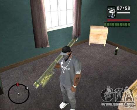 Fim-43 Redeye para GTA San Andreas segunda pantalla