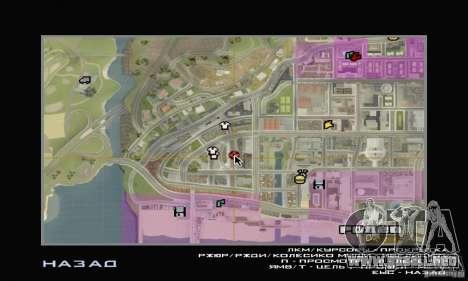 Servicio de parte de cinco estrellas y repuestos para GTA San Andreas séptima pantalla