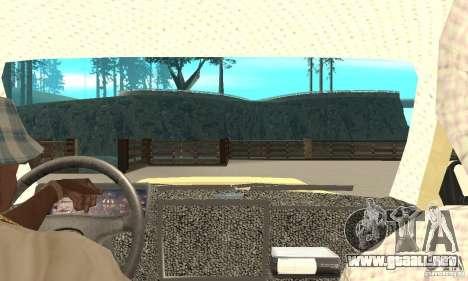 VAZ 21213 4 x 4 para la visión correcta GTA San Andreas