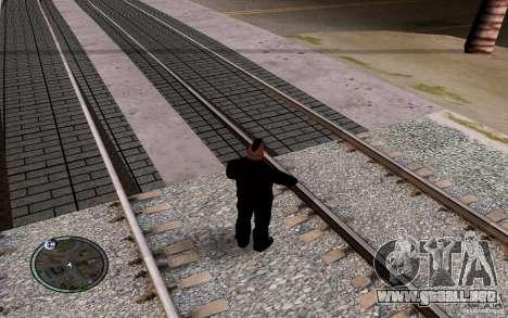 Rieles rusos para GTA San Andreas octavo de pantalla
