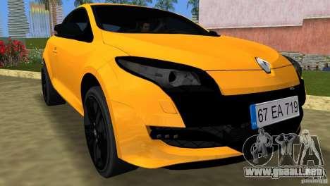 Renault Megane 3 Sport para GTA Vice City