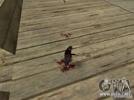 Muerte real para GTA San Andreas