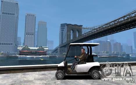 Caddy To IV para GTA 4 left
