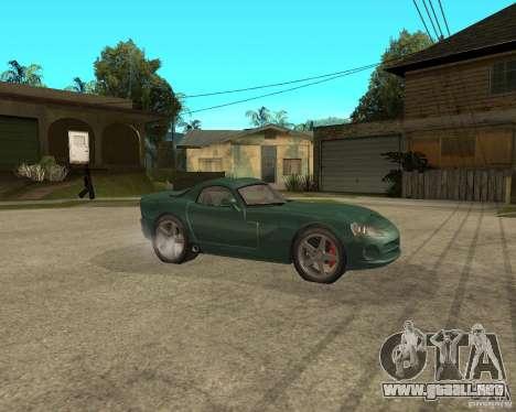 Dodge Viper Srt 10 para la visión correcta GTA San Andreas