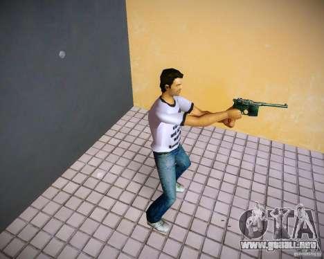 Mauser C96 para GTA Vice City segunda pantalla