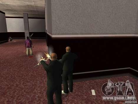 Doble V 4.0 para GTA San Andreas tercera pantalla