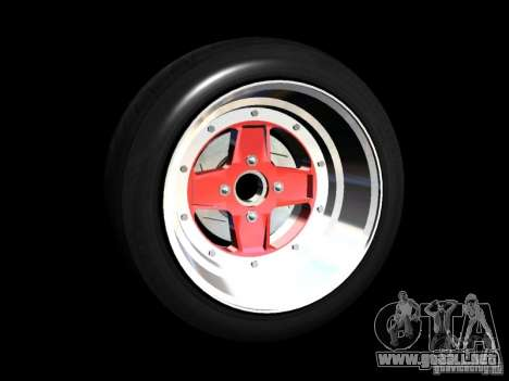 Old School Rims Pack para GTA San Andreas novena de pantalla