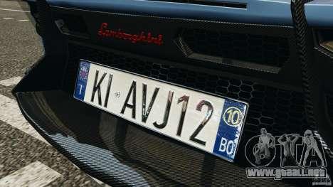 Lamborghini Aventador J 2012 para GTA motor 4