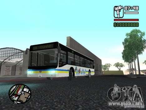 Onibus para GTA San Andreas left