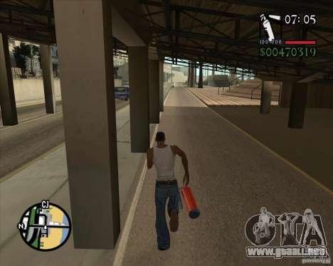 New Fonts para GTA San Andreas segunda pantalla