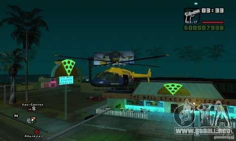 Helitours Maverick de GTA 4 para GTA San Andreas left