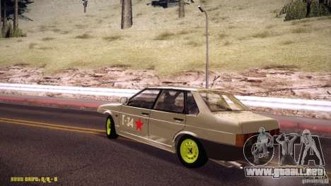 Vaz 21099 Hobo para GTA San Andreas left
