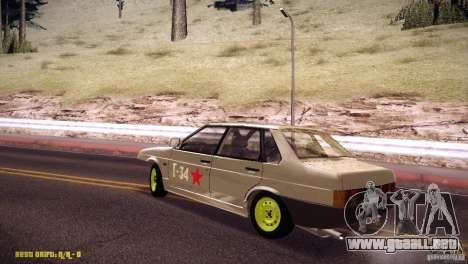 Vaz 21099 Hobo para GTA San Andreas left