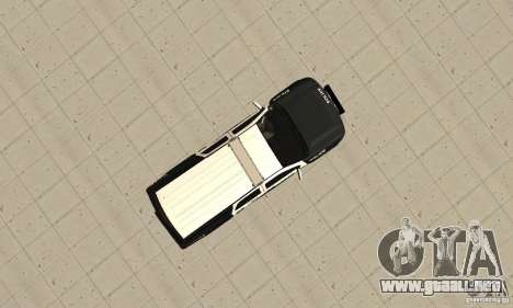 Chevrolet Suburban 2007 LSPD para la visión correcta GTA San Andreas