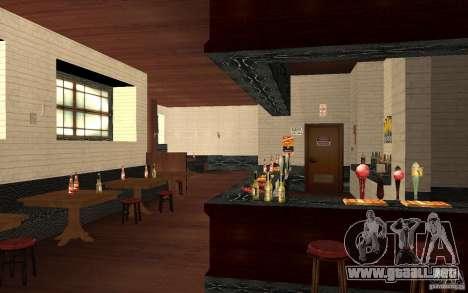 Un nuevo bar en Gantone v. 2 para GTA San Andreas sexta pantalla