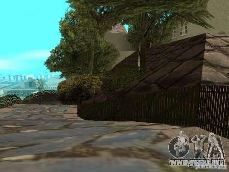 Montaña de piedra para GTA San Andreas sexta pantalla