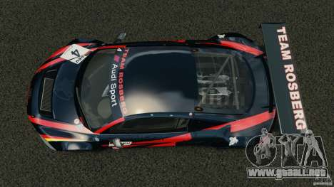 Audi R8 LMS para GTA 4 visión correcta