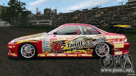 Toyota Soarer para GTA 4 left