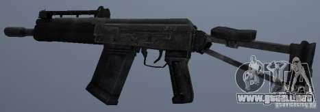 Saiga-12s para GTA San Andreas segunda pantalla