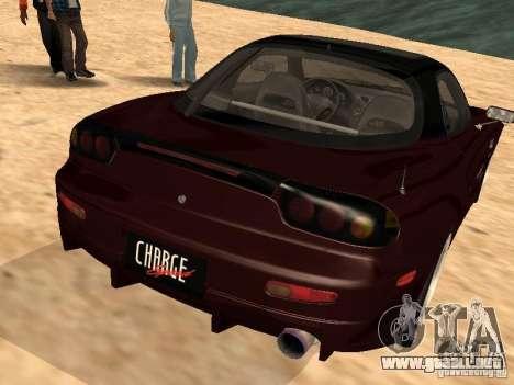 Mazda RX-7 para GTA San Andreas left