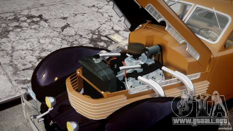 Cord 812 Charged Beverly Sedan 1937 para GTA 4 visión correcta
