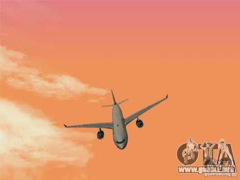 Airbus A330-300 US Airways para la visión correcta GTA San Andreas