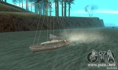 Marquis Segelyacht 09 Textures para visión interna GTA San Andreas