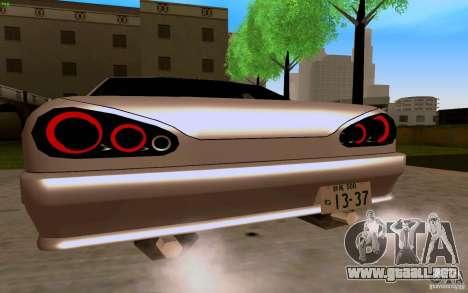 Elegía nuevo para la visión correcta GTA San Andreas