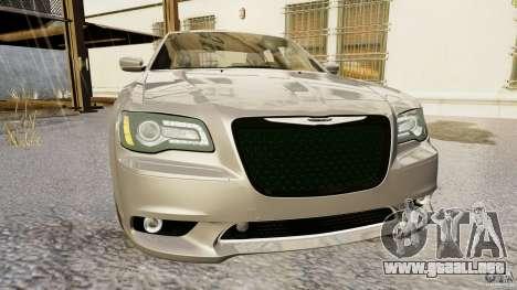 Chrysler 300 SRT8 2012 para GTA 4 Vista posterior izquierda