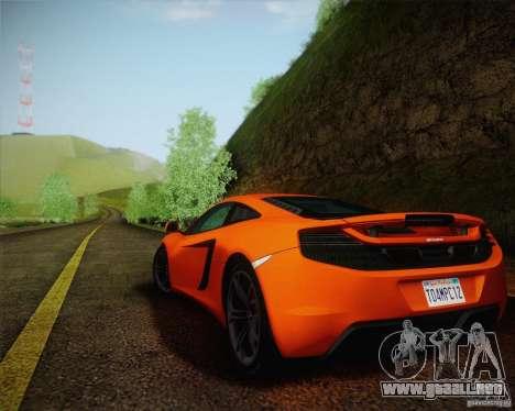 ENBSeries by ibilnaz v 2.0 para GTA San Andreas quinta pantalla
