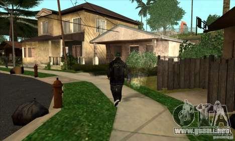 filas de piel 1 Grove para GTA San Andreas segunda pantalla