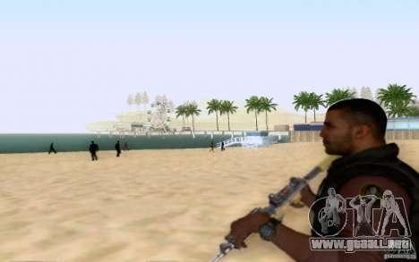 Salazar en el civil para GTA San Andreas sucesivamente de pantalla