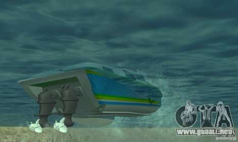 Speed Motorboat para visión interna GTA San Andreas