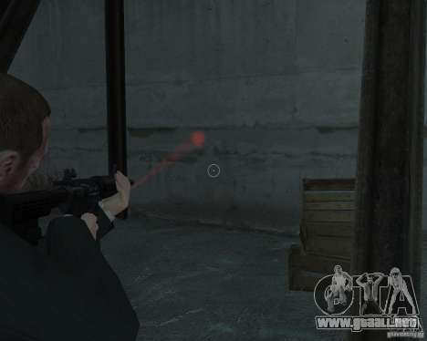 Flashlight for Weapons v 2.0 para GTA 4 segundos de pantalla