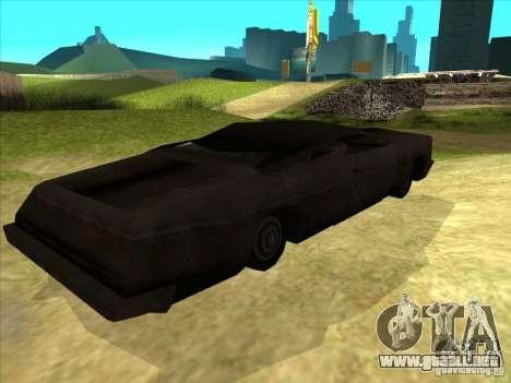 Real Ghostcar para la visión correcta GTA San Andreas