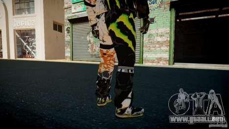 Ken Block Gymkhana 5 Clothes (Unofficial DC) para GTA 4 octavo de pantalla