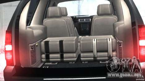 Chevrolet Tahoe 2007 para GTA 4 vista interior