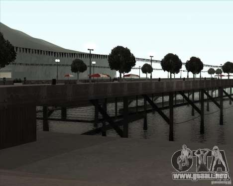 ENBSeries NORTH para GTA San Andreas quinta pantalla